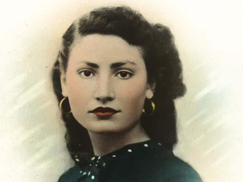 Rachel en 1942