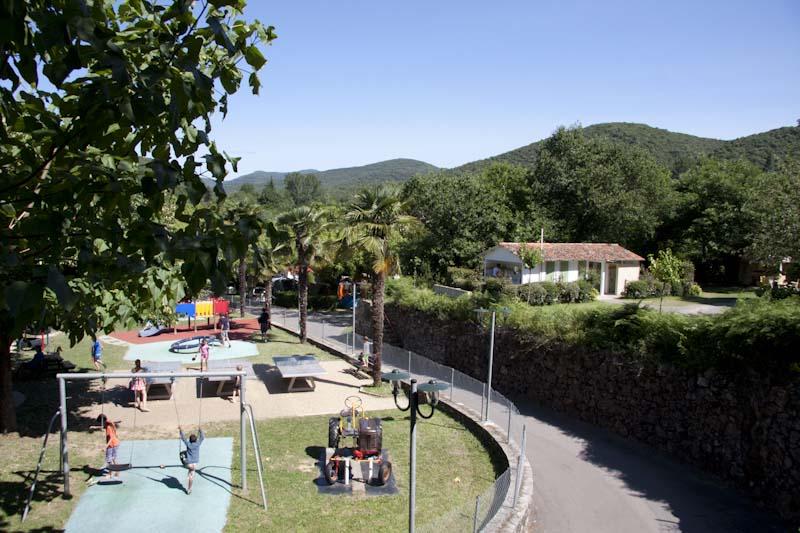 parc pour enfants du camping