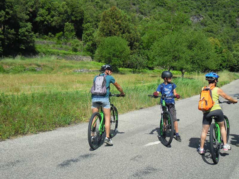 Vélo à Corbès