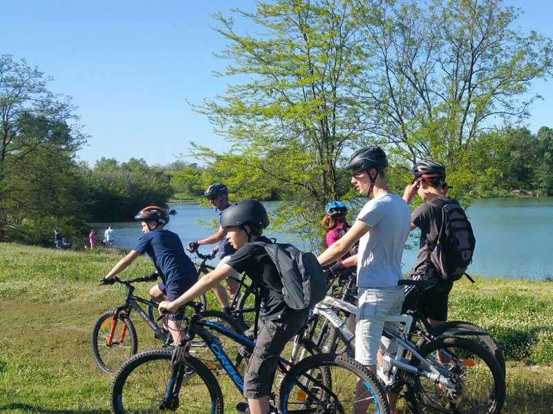 Vélo au lac d'Atuech