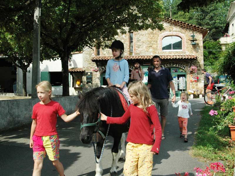 balade familiale en poney