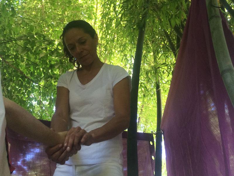 masseuse de mains