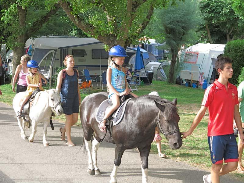 poney au camping