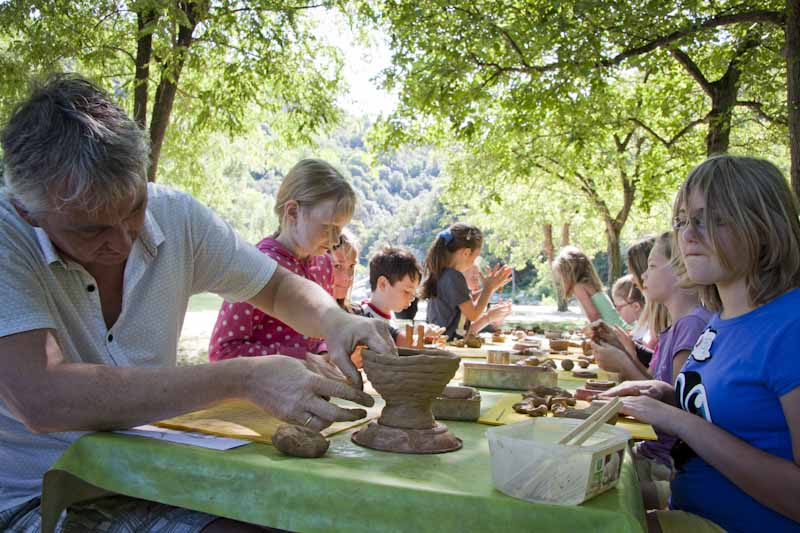 pratique de la poterie